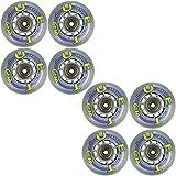 True Sport Inline Skate Wheel 72mm 82a Set of Eight