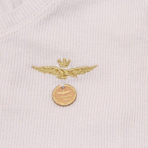 Militare Canottiera Donna shirt Canotta Grigia Women T Maglia Aeronautica Grigio 0306p fwE7xd