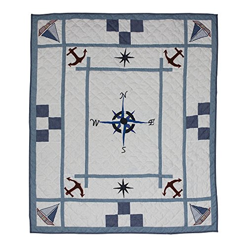 Patch Magic THSTSE Star Of The Sea, Throw 50 x 60 in.