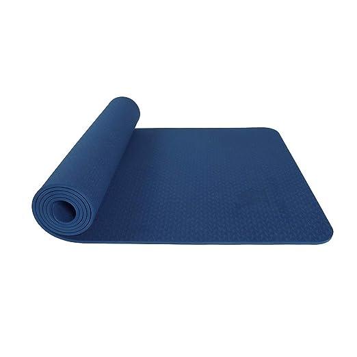 Esterilla de Yoga TPE Suave Bala Antideslizante Yoga Fitness ...