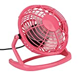 laptop cooler pink - Leewa@ Portable Desktop Usb Mini Cooler Fan For Notebook Laptop Computer (Pink)