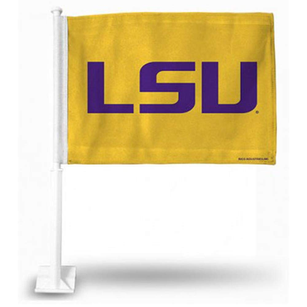 Rico Industries NCAA LSU Tigers Car Flag FG170108