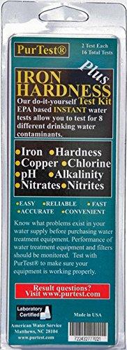 PurTest PIron Water Different Tests