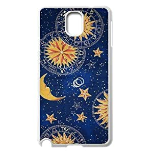 Custom New Cover Case for Samsung Galaxy Note 3 N9000, Sun Moon Space Nebula Phone Case - HL-513119