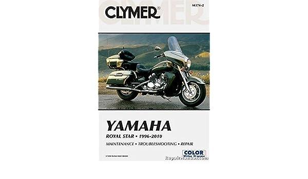 M374-2 Yamaha XVZ1300 Royal Star 1996-2013 Clymer Motorcycle ... on