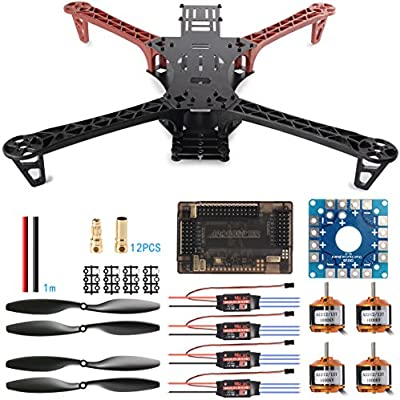 XCSOURCE® Kit de Montaje de Quadcopter Dron Reptile 500 FPV ...