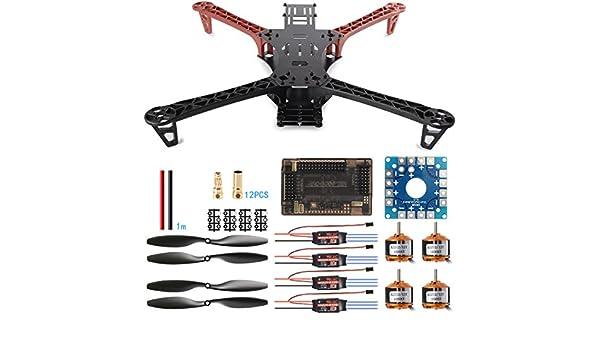 XCSOURCE® Kit de Montaje de Quadcopter Dron Reptile 500 FPV ...