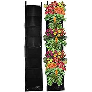 8 Pocket Vertical Garden Planter U2013 Living Wall Planter U2013 Vertical Planters  U2013 For Outdoor U0026