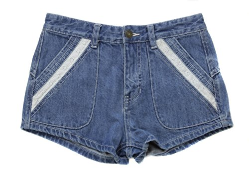 Price comparison product image Free People Women's Lewis Booty Denim Shorts [Blue] [28]