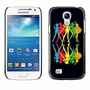 Dragon Case - FOR Samsung Galaxy S4 Mini i9190 - the best way to spend it - Caja protectora de pl??stico duro de la cubierta Dise?¡Ào Slim Fit