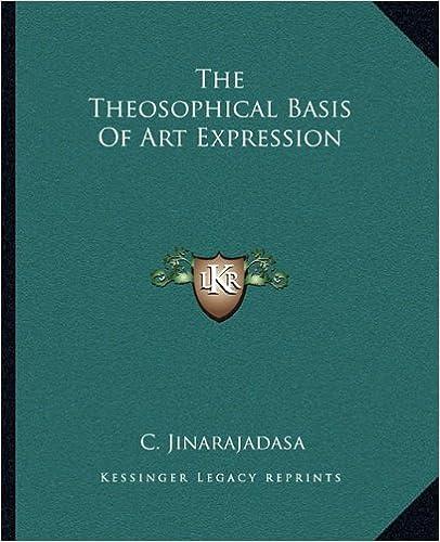 Kostenlose Hörbücher, die Sie herunterladen können The Theosophical Basis Of Art Expression PDF 1162884053