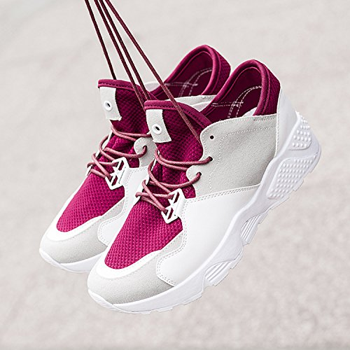 Frestepvie Chaussures Sport Sneakers Femme Fille Baskets Sports Shoes Mode Respirant Confortable Casual Fitnesse Gym Course Printemps