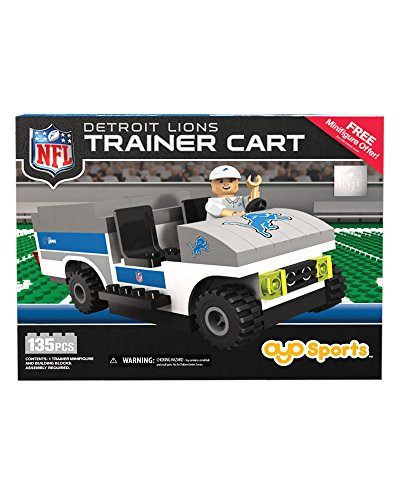 Oyo NFL Buildable Trainer Cart (135-piece)