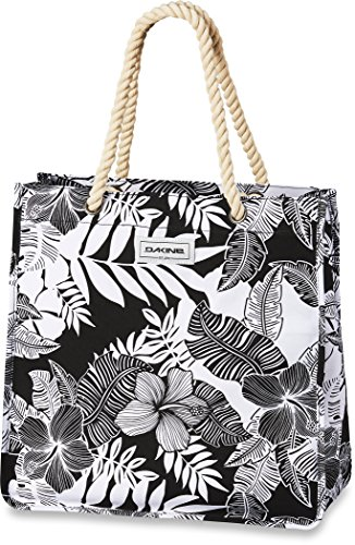 Dakine Women's Surfside Shoulder Bag Purse, Hibiscus Palm Canvas, 28 L