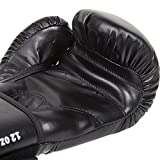 Venum Contender Boxing Gloves - Black/Black