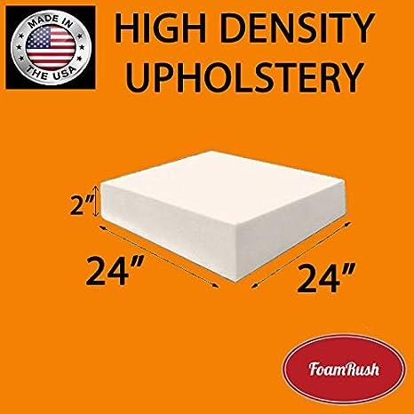 FoamRush Half Ounce 24 x 24 Dacron//Batting Made in USA