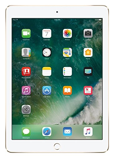 Apple iPad mini 4 Tablet (128GB, Gold, 7.9 Inch, 2017 Model, WiFi) + Accessories Bundle (10.00mAh iPad Power Bank, iPad Stylus Pen, Microfiber Cloth) MK9Q2LL/A by Apple Tablet (Image #1)