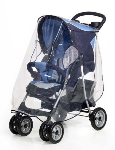 Leisure Universal Buggy Throw Over Rain Cover Large - PVC free
