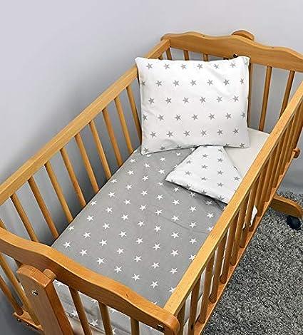 10 2 Piece Baby Children Quilt Duvet /& Pillow Set 80x70 cm to fit Crib or Pram