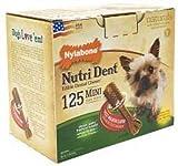 Nylabone Nutri Dent Filet Mignon, 125-Count Pantry Pack, My Pet Supplies