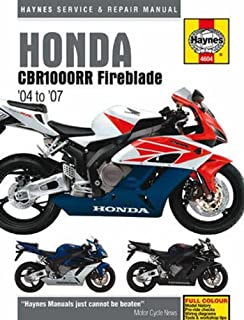 Honda cbr1000rr service and repair manual 2004 to 2006 ] by coombs.