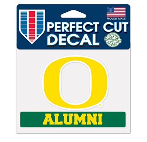 WinCraft NCAA Officially Licensed Oregon Ducks ALUMNI 4''x5'' Perfect Cut ()