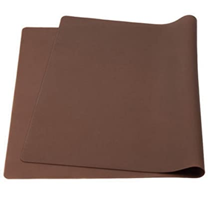Delicieux Aspire Thicken Non Slip Waterproof Silicone Placemats Extra Large Flexible Table  Mats, 1PC