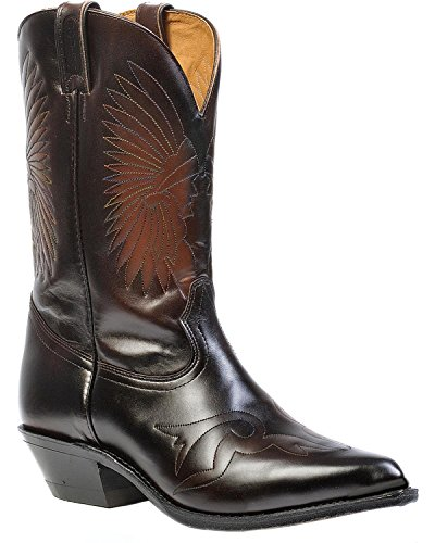 Boulet Men's Hand-Washed Cowhide Challenger Cowboy Boot P...