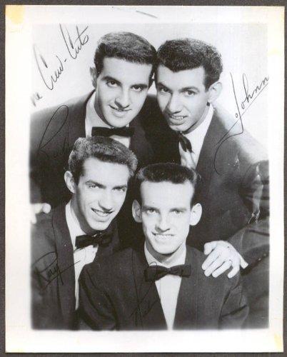 - Rock n roll group The Crew-Cuts fan club snapshot 1950s