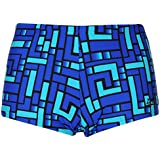 Zoggs Kids Grid Hip R Boys Boxer Trunks Shorts Swimwear