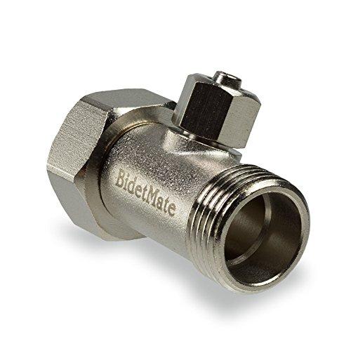 Bidet mate brass t adapter with pu hose connector new ebay