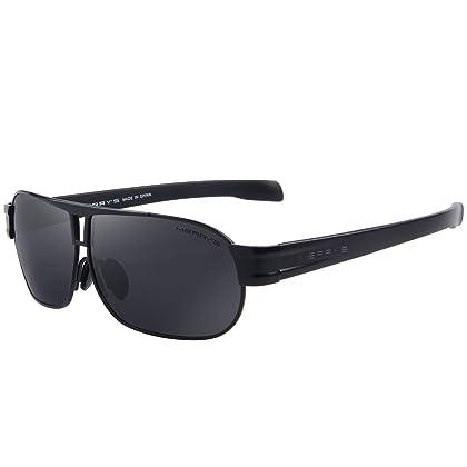 MERRY'S Herren Sonnenbrille, schwarz, S8501-1-Box1
