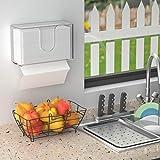 HIIMIEI Acrylic Paper Towel Dispenser Wall Mount