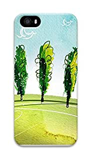 iPhone 5 5S Case Breath of spring landscape 3D Custom iPhone 5 5S Case Cover
