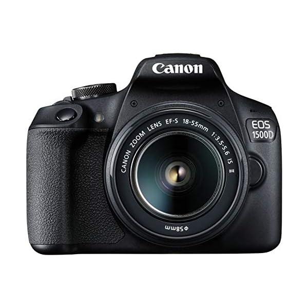 RetinaPix Canon EOS 1500D 24.1 Digital SLR Camera (Black) with EF S18-55 is II Lens
