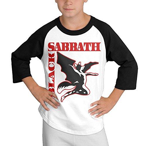 [BiuBiu Black Sabbath Creature Teenagers Essential Tshirt SizeL] (Diy Ironman Costume)