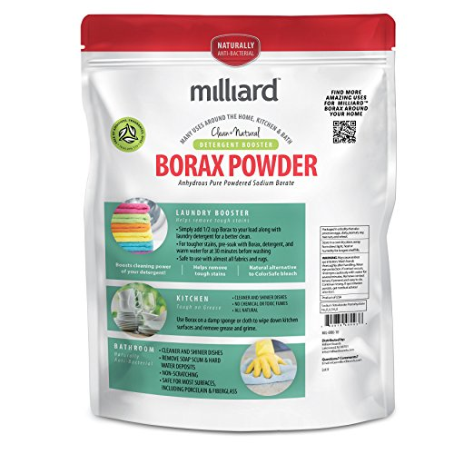 Milliard Borax Powder Pure Multi Purpose Cleaner 10 Lb