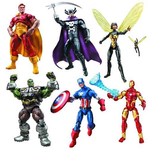 Marvel Infinite Action Figures Wave 1 Case