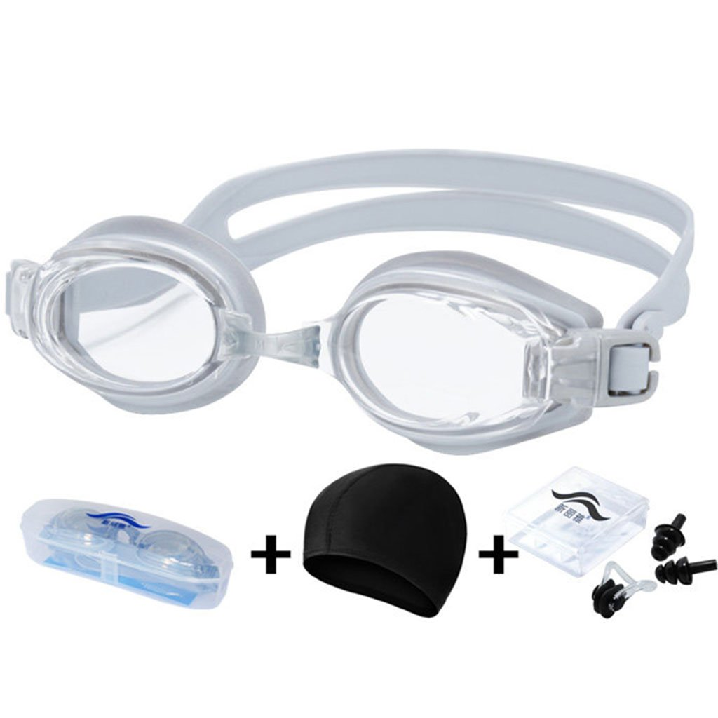 William 337 Beruf Schwimmbrille Anti-Fog wasserdicht Kinder transparent entwickelt entwickelt entwickelt für Erwachsene und Kinder Schwimmen Brillen (Farbe   A) B07FFS3JZQ Schwimmbrillen Erschwinglich 059ede