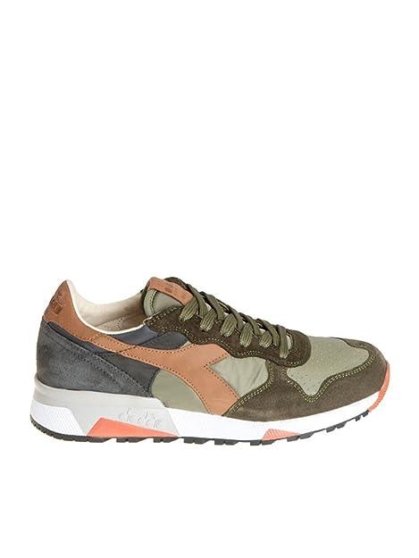 Diadora Heritage Sneakers Uomo 161303C7167 Pelle Verde