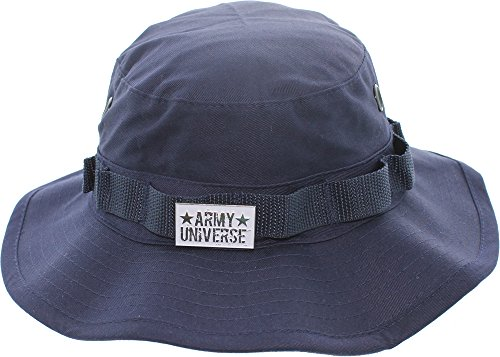 Army Universe Navy Blue Tactical Boonie Bucket Hat with Pin - Size X-Large 7 ¾