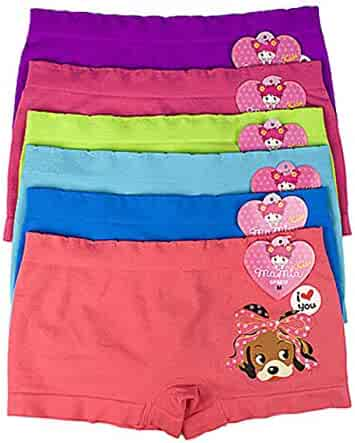BAMBUSA BRASIL Girls Brazilian Organic Cotton Panties antiiallergic mesh