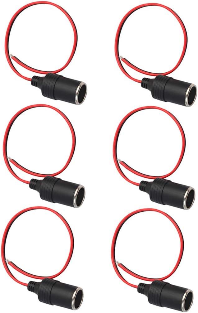 12V 120W Car Female Lighter Power Plug Socket Connector Adapter 6x