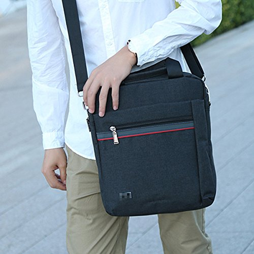 Durable Convenient Inclined Practical Black Men Shoulder Satchel Classic Fashion Bag Cloth Multicolor For Oxford 51qHwa5x