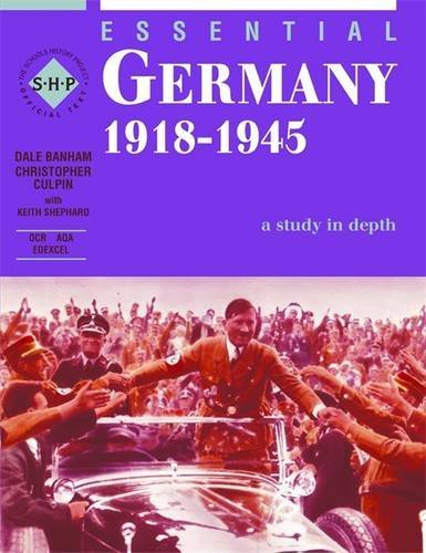 Germany 1918-1945: Student's Book (The Essential Series) (Essentials Series)
