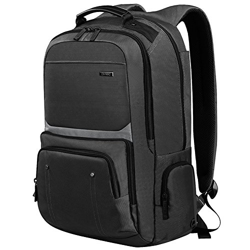 Laptop Backpack 17.3 Inch ,DTBG Nylon Roomy Tear Resistant Weekend Backpack Travel Duffel Bag Business Rucksack College Daypack Student Schoolbag Fits 17 - 17.3 Inches Laptops Notebook Computers,Black