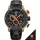 New LIV GX1 Swiss Chronograph Rose Gold + Deployant Buckle 1260.45.190.A201.D200
