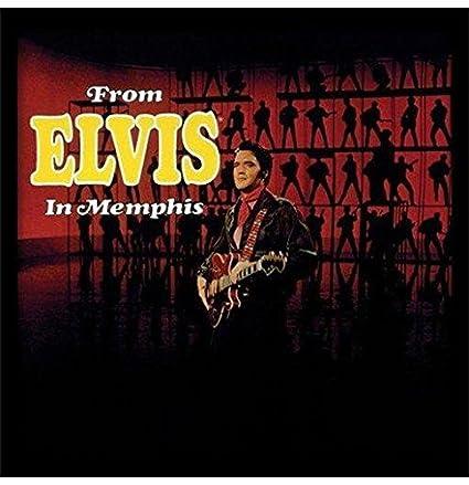 Elvis Presley vive en Memphis enmarcado clásico álbum funda filmcell ...