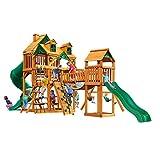 Gorilla Playsets Malibu Treasure Trove I Swing Set w/Natural Cedar