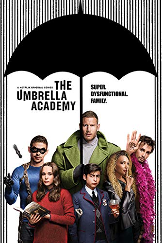 The Umbrella Academy - TV Show Poster (Season 1 - Regular Style - Key Art) (Size: 24